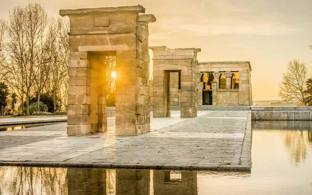 Temple of Debod in Madrid ?!!