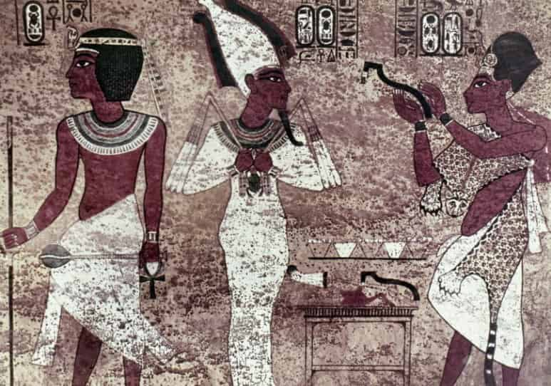 Ancient Egypt: The opening of the mouth ritual