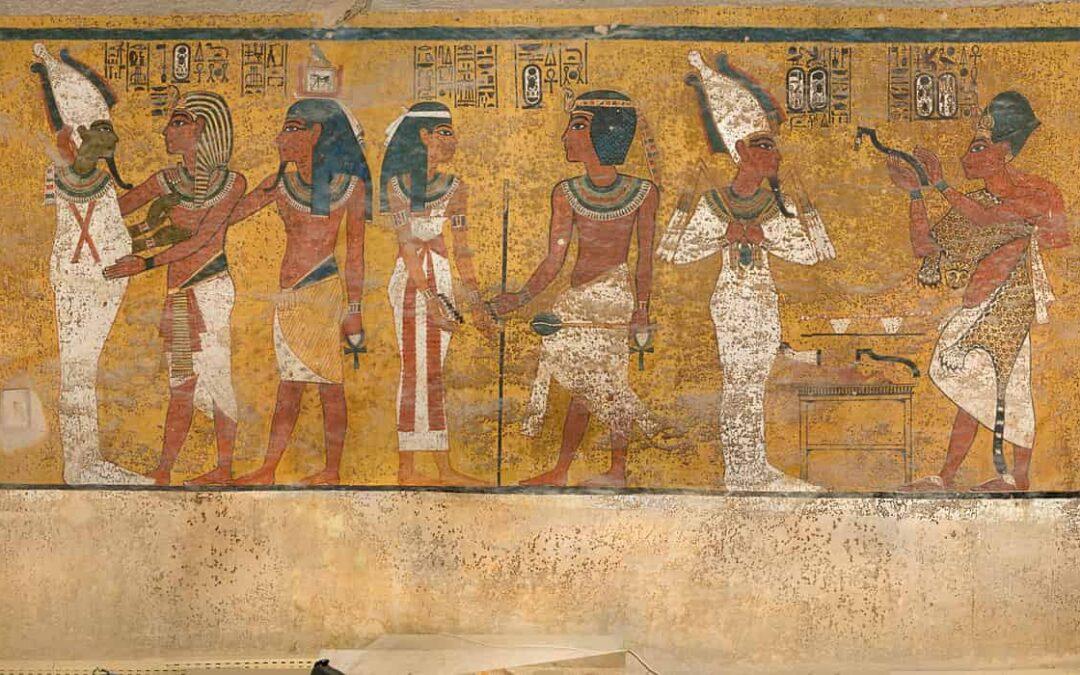The secret of Tutankhamun's paintings