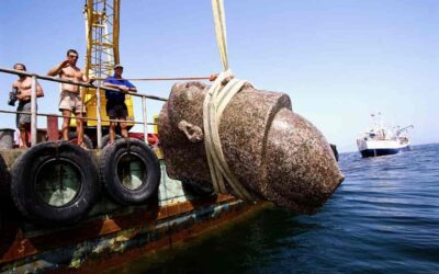 Thonis-Heracleion, a ship graveyard