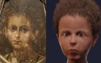 Scientists reconstruct the face of an Egyptian boy from more than 2,000 years ago