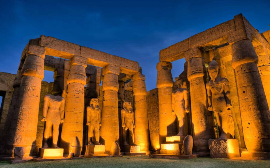 Pharaoh's architects, the builders of Egypt