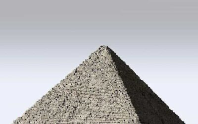 Why do pyramids have that shape?